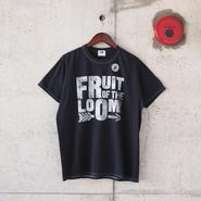【unisex】FRUIT OF THE LOOM〈フルーツオブザルーム〉 FRUIT PARLOR ART PROJECT -  STEPHEN KENNY LOGWOOD(A)