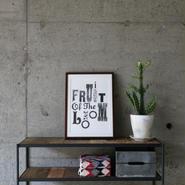 FRUIT OF THE LOOM〈フルーツオブザルーム〉 FRUIT PARLOR - Art by STEPHEN KENNY