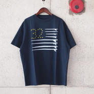 SUNNY SPORTS〈サニースポーツ〉 FLAG TEE (sn16s039) NAVY