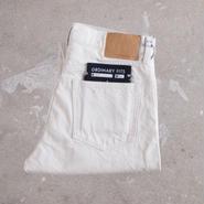 【unisex】Ordinary fits〈オーディナリーフィッツ〉 5POCKET ANKLE DENIM white (OM-P021) WHITE