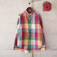 SUNNY SPORTS〈サニースポーツ〉 CHECK REG L/S SHIRTS (sn16s008) MULTI CHECK