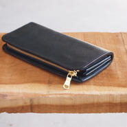 【限定カラー】Dono〈ドーノ〉 LONG ZIP WALLET NAVY
