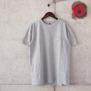 FOB FACTORY〈エフオービーファクトリー〉 US COTTON TUBE POCKET T-shirt (F7096) GREY