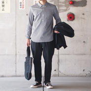 Manual Alphabet〈マニュアルアルファベット〉 ATTACHMENT TROUSERS (MA-P-085) NAVY