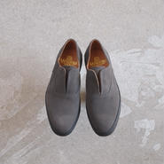 SANDERS〈サンダース〉  OXFORD DECK SLIP-ON GREY