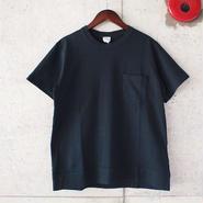 【unisex】Ordinary fits〈オーディナリーフィッツ〉POCKET Tee  (OM-C032) BLACK