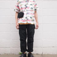 【unisex】Ordinary fits〈オーディナリーフィッツ〉 VIETNAM CARGO PANTS (OM-P111) BLACK