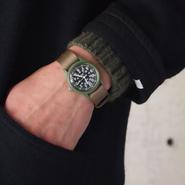 MWC〈ミリタリーウォッチカンパニー〉  Classic Range Quartz Watch (W-113QTZ) OLIVE/BLACK