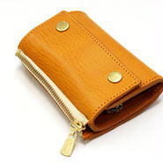 Dono〈ドーノ〉 LEATHER KEY CASE・レザーキーケース YELLOW/BROWN/RED