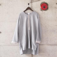 5W〈ゴワット〉  Longrand shirts - cotton flannel GREY