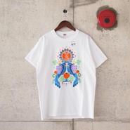 【unisex】FRUIT OF THE LOOM〈フルーツオブザルーム〉 FRUIT PARLOR ART PROJECT -  riya WHITE