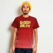 イーブンフロウ サーフ&スケート Tシャツ #マルーン