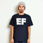 イーブンフロウ ブロック EF ロゴ Tシャツ #ネイビー