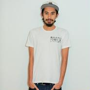 イーブンフロウ パーム ロゴ Tシャツ #ホワイト