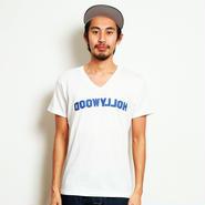 イーブンフロウ DOOWYLLOH V Tシャツ #ホワイト