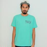 イーブンフロウ パーム ロゴ Tシャツ #ミント