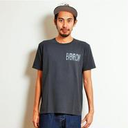 イーブンフロウ パーム ロゴ Tシャツ #ブラック