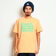 イーブンフロウ 4ミステイク サーフ Tシャツ #オレンジ