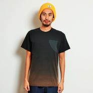 イーブンフロウ フィン ポケット Tシャツ #ブラック
