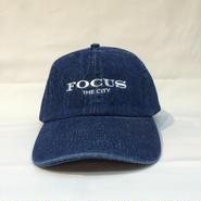 """FOCUS """"THE CITY"""" DENIM CAP"""