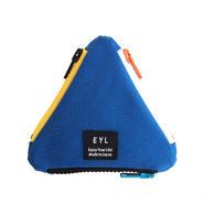 EYL triangle coin purse Blue