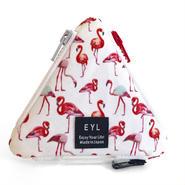 "EYL triangle coin purse ""Flamingo"""