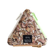 EYL triangle coin purse Wood Chips