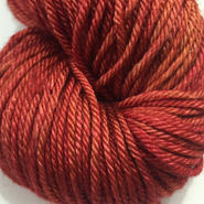 Madelintosh Silk MerinoDK  Pendleton Red