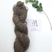 Moeke yarns Elena  2ply grey  70g
