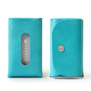 カードも入るキーケース    KEY CASE & CARD / FABRIK TURQUOISE