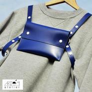 Artém Atelier  ハーネス バッグ/エレクトリック ブルー
