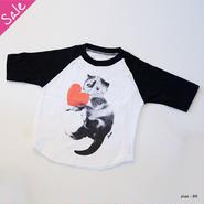 【SALE】めめ ベイビーTシャツ(ブラック)