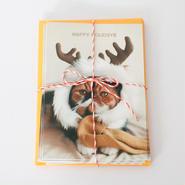 クリスマスカード - めめトナカイ(5枚セット)