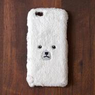 [KEORA KEORA] クマiPhoneカバー(ハードタイプ) - ホワイト