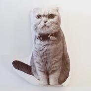 【SALE】ネコ(ふく)型クッション
