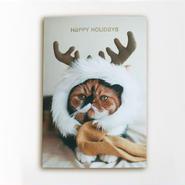クリスマスカード めめトナカイ