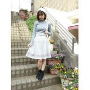 裾レース切替フレアースカート/F i.n.t