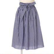 ウエストリボンギャザースカート/F i.n.t