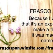 FRASCO SPUN 001