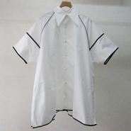 BALMUNG パイピングビッグシャツ(WHITE)