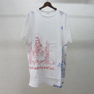 YEAH RIGHT!! WHITE T その2