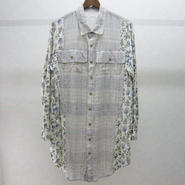 YEAH RIGHT!!  wide work shirt(botanical)
