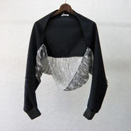 YEAH RIGHT!! feather print sleeve parts