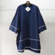 BALMUNG バックフラップビッグTシャツ(紺)