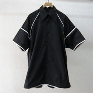 BALMUNG パイピングビッグシャツ(BLACK)