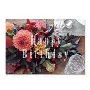 メッセージカード[Happy Birthday]