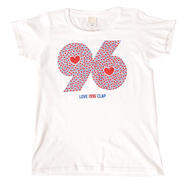 (CLAP)  96  HEART  Tee ホワイト