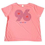 (CLAP)  96  HEART  DOLMAN ピンク