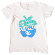 (CLAP)  CLAPPLE  Tee ホワイト