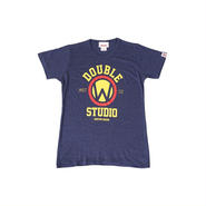 (Wstudio)  MARU  HEATHER  Tee  ネイビー